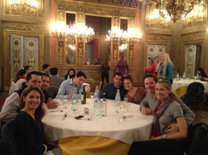 Dinner at the Palazzo Borghese